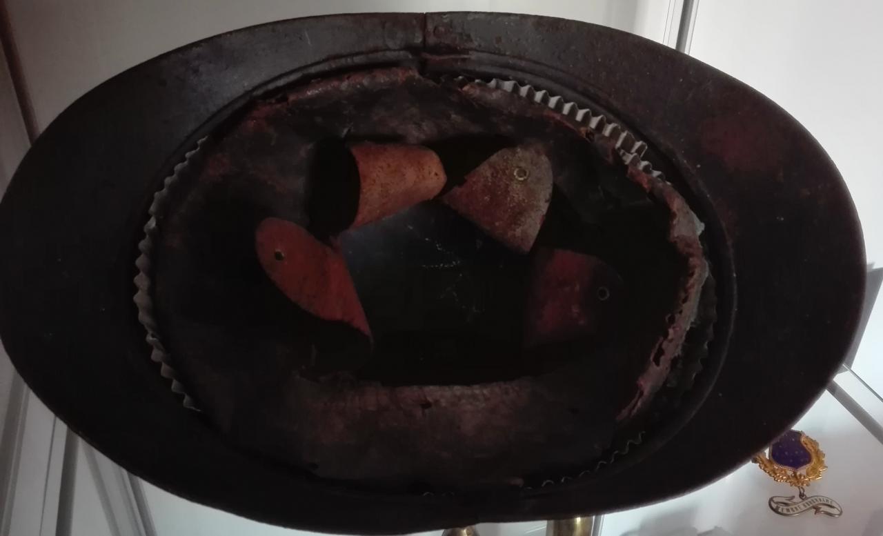 Intérieur du casque adrian