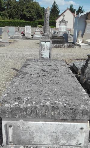 Rousseau marcel raymond tombe 2
