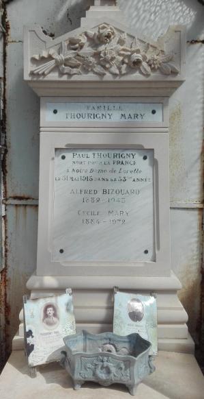 Thourigny auguste paul tombe